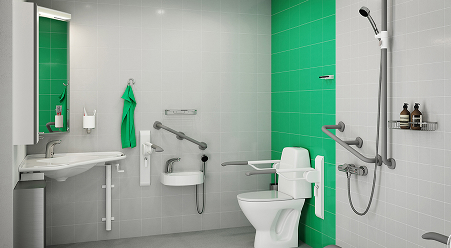 Gaius Care   Korpinen The Gaius Hospital bathroom solution is designed to meet the often  demanding needs of those who are in critical need of support and their  caregivers . Hospital Bathroom. Home Design Ideas