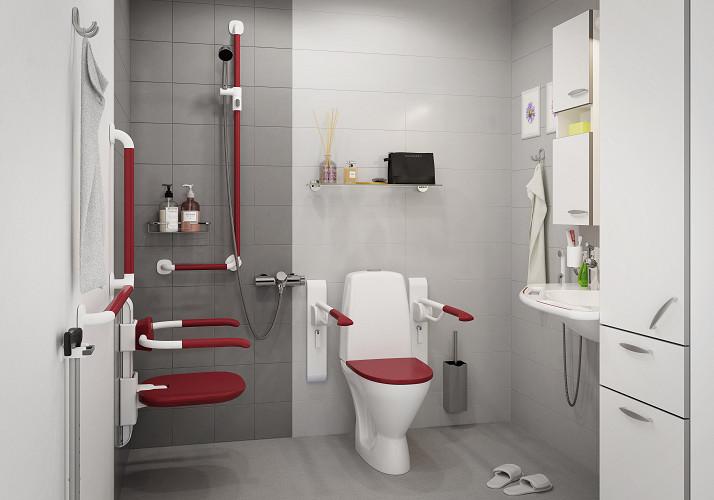 Koukku WC vesi huolto
